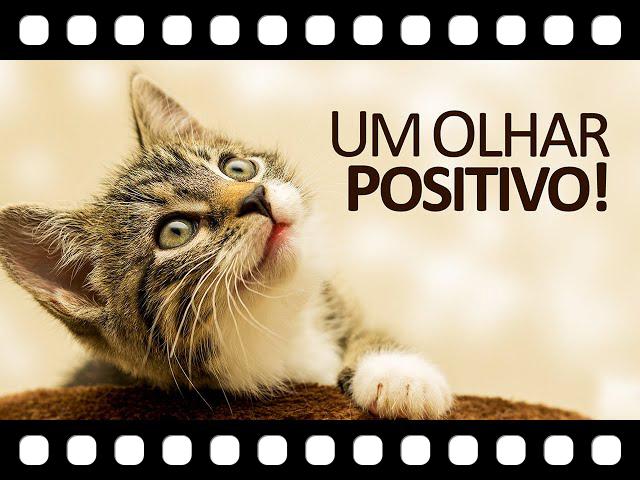Escolha hoje ver apenas o lado positivo e veja a vida com bons olhos!